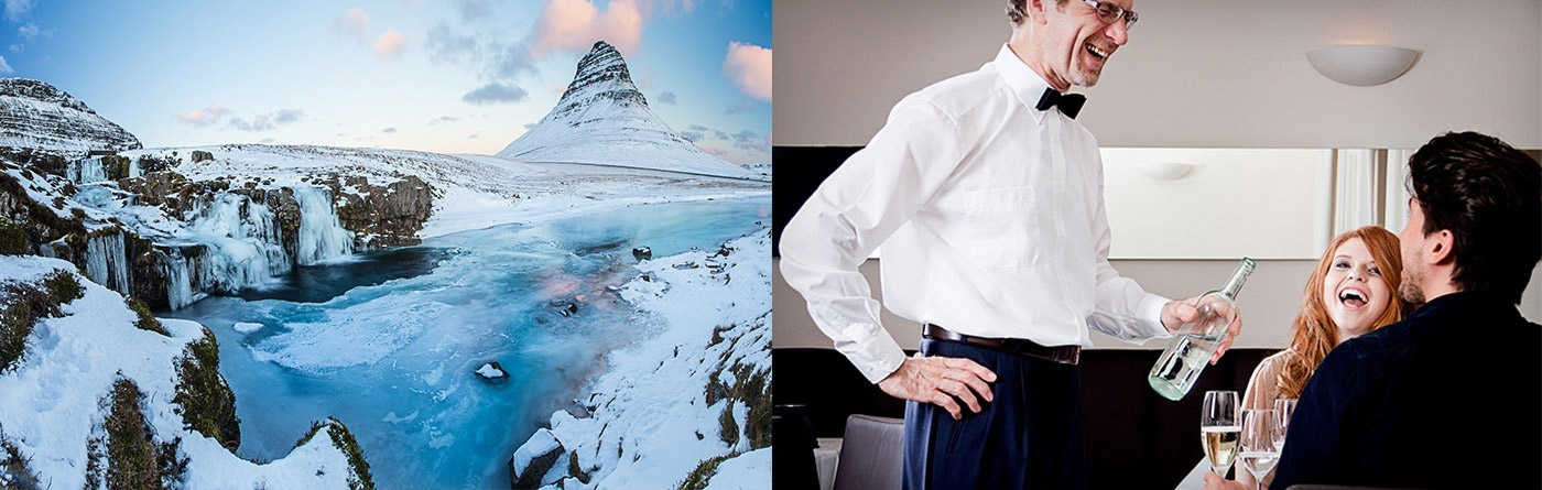 Icelandic Glacier Water for Hotels, Restaurants & Catering